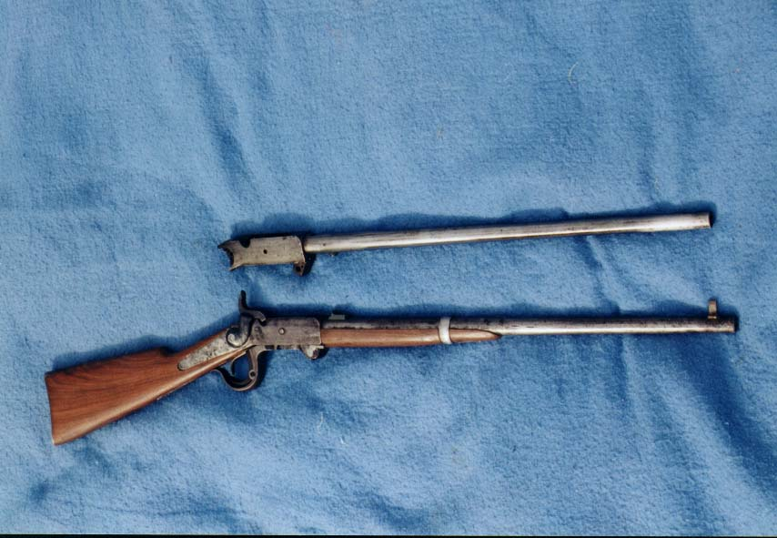 Burnside Carbine and Barrelled Action